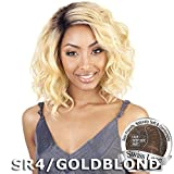 ISIS BROWN SUGAR Human Blended Lace Front Wig - BS206 (#1B - Off Black) by ISIS HAIR