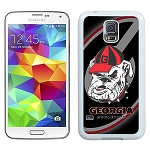 Beautiful And Unique Designed Case For Samsung Galaxy S5 I9600 G900a G900v G900p G900t G900w With Southeastern Conference Sec Football Georgia Bulldogs 3 White Phone Case