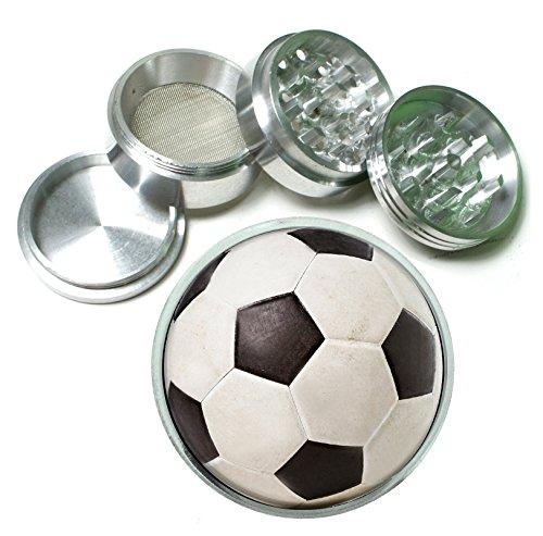 Soccer Ball 4 Pc. Aluminum Tobacco Spice Herb