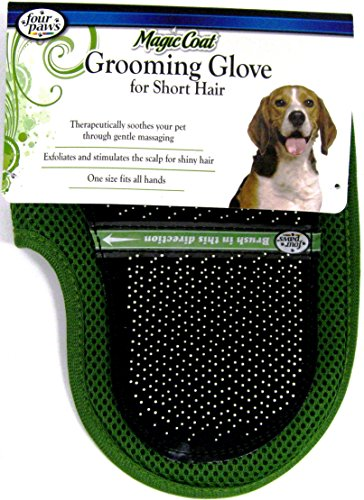 Four Paws Magic Coat Grooming Glove for Short Hair