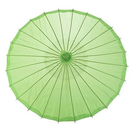 Natthom Paraguas de bambú del paraguas del estilo chino Paraguas del  palillo del paraguas chino de 3051c9f79b6