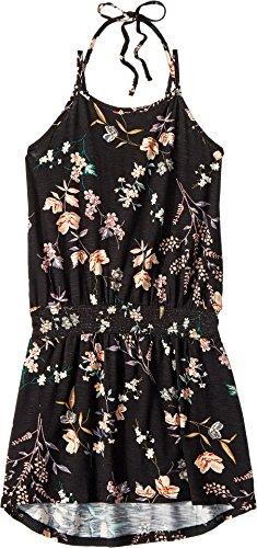Dress Jersey Oneill (O'Neill Big Girls' Sila Knit Tank Dress, Black, S)