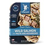 Fishpeople Chinook Salmon & Sea Shell Pasta in a Wild Mushroom Sauce, 10 Ounce by Fishpeople