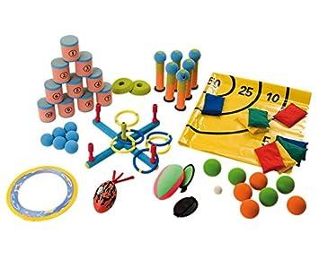 Betzold 33888 Wurfspiele Set 8 Spannende Spiele Wurfspiel
