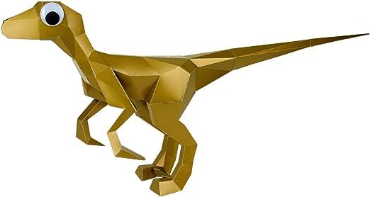 Velociraptor Origami Dinosaur Eobrontosaurus Dimetrodon, PNG ... | 279x522
