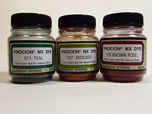 Fiber Reactive Dye Set - Jewel Tones (Fiber Dye)
