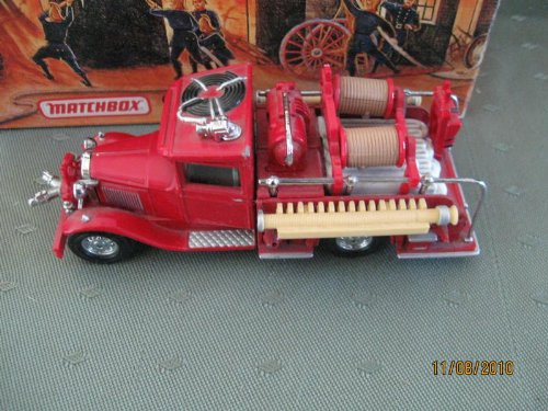 Matchbox 1932 Ford AA Fire Engine Models of Yesteryear Series