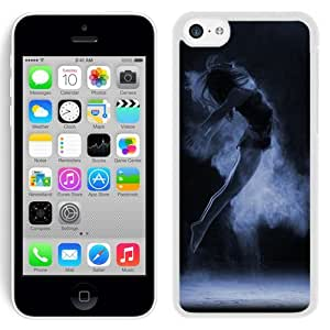Dark Dancing (2) Hard Plastic iPhone 5C Protective Phone Case