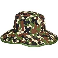 Baby Banz 7771 Banz 50+ UV Koruma Çift Taraflı Güneş Şapkası, Yeşil, 2-5 Yaş