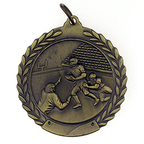 PinMart Football Award Gold Medal