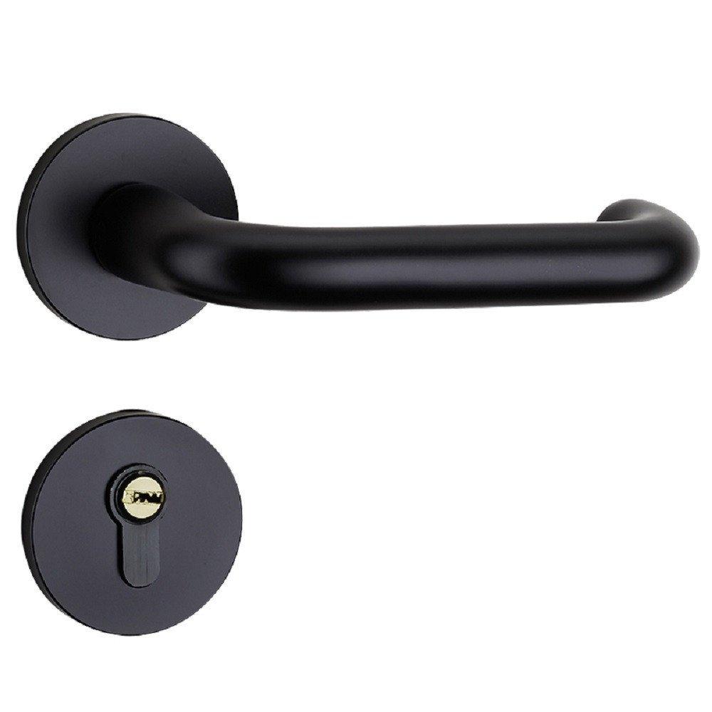 Door Locks, Indoor Split Locks, Bedroom Door Locks, Bathroom Door Handles,131 * 55mm,B Bai66dDDW