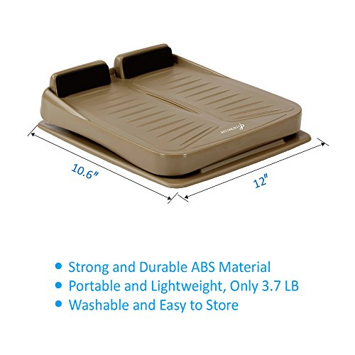 StrongTek Portable Slant Board, Adjustable Incline Boards and Calf/Ankle Stretcher | Anti-Slip Design | 4 Positions Foot Stretch Wedge Board (250 lb Capacity)