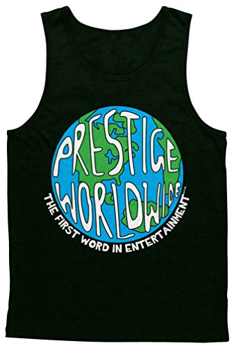 Blittzen Mens Tank Prestige Worldwide, L, Black