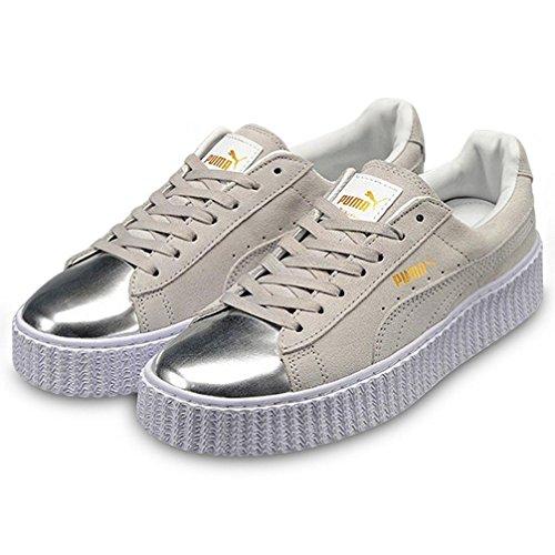 Puma - Soligo lo zapatilla/zapato para hombre estilo con cordones, talla 6.5 uk, color negro