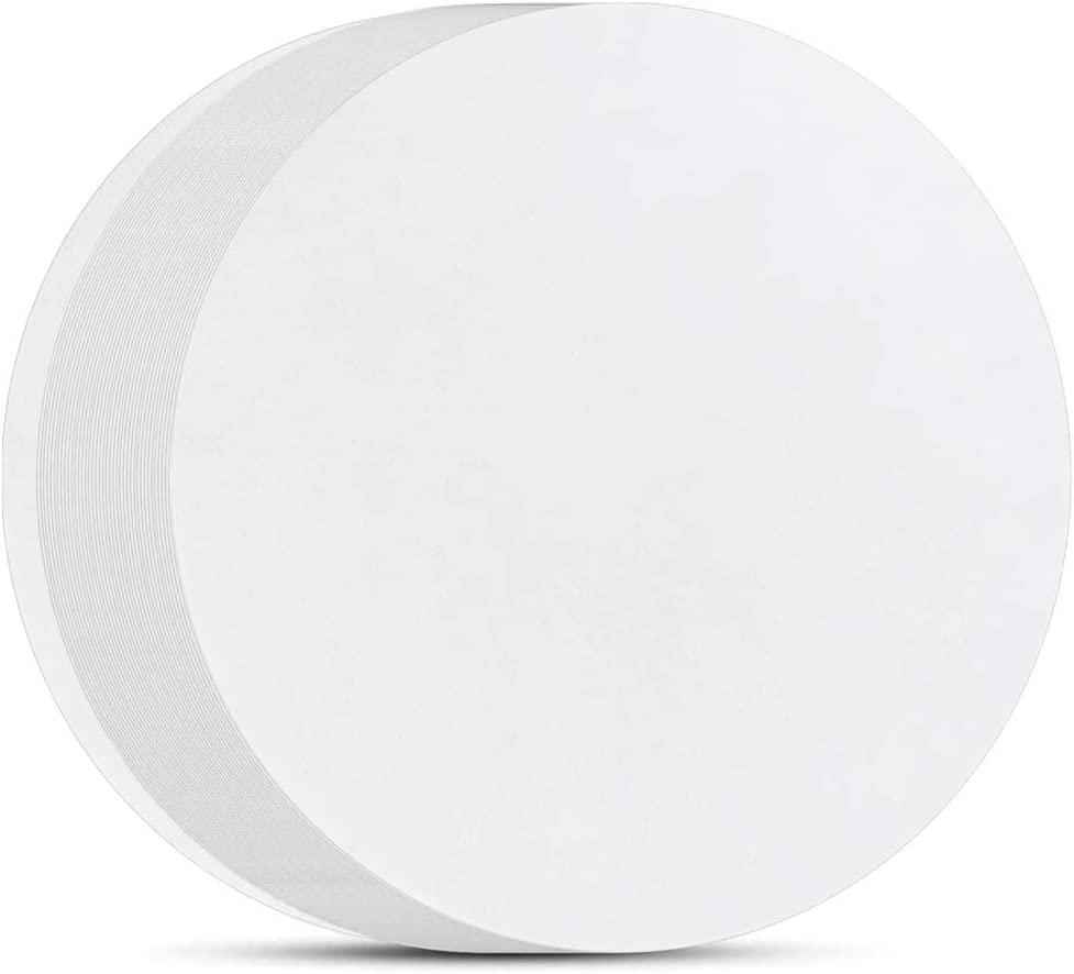 7 Inch Parchment Paper Rounds, Set of 200, Non Stick Baking Parchment Paper/Baking Parchment Circles for Round Cake Pan, Springform Pan, Tortilla Press and so on(4.5/5.5/6/8/9/10/12in Available)