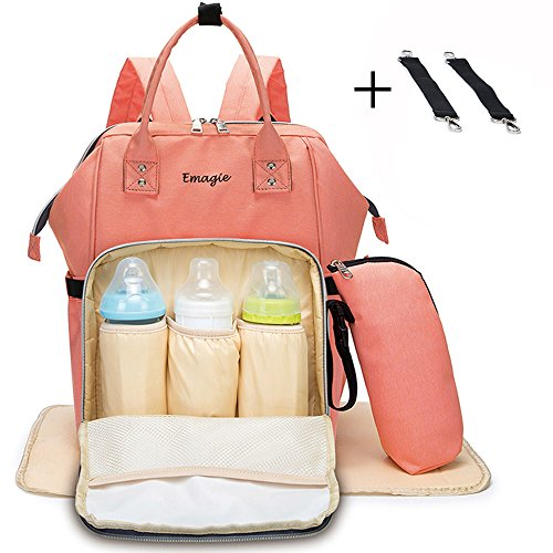 Baby 002 Cute Diaper Bag (Pink) - 2