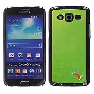 For Samsung Galaxy Grand 2 - Green Grass Boy Daydream /Modelo de la piel protectora de la cubierta del caso/ - Super Marley Shop -