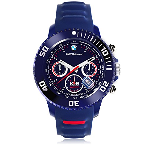 ice watch bmw motorsport chrono dark blue big big. Black Bedroom Furniture Sets. Home Design Ideas