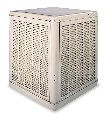- Essick Air Ducted Evaporative Cooler, 4300cfm, 1/3 HP - 2YAE1-4UU13