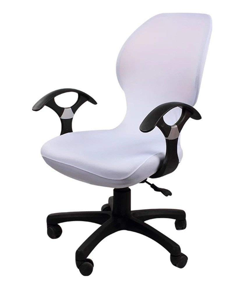 Coffee Deisy Dee Computer Office Chair Covers Pure Color Universal Chair Cover Stretch Rotating Chair Slipcovers Cover ONLY Chair Covers C098