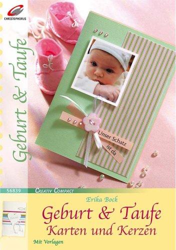 Geburt & Taufe: Karten und Kerzen