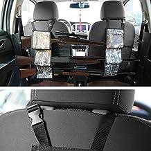 antWalking Car Front Seat Backrest Gun Sling Organizer Rifle Rack for Outdoor Hunting Camouflage Pouch Pocket Hanger Support Holder