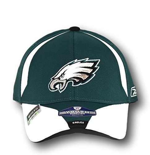 Philadelphia Eagles Youth Player Sideline Hat Lid - Sideline Youth Cap