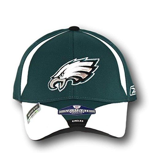 Fan Apparel Philadelphia Eagles Youth Player Sideline Hat Lid Cap - Youth Sideline Cap