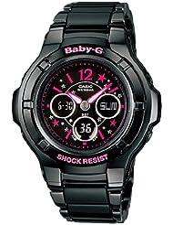 Baby-G World Time Chronograph Black Dial Womens watch #BGA121C-1B2