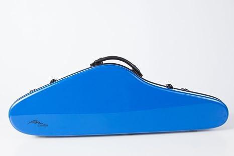 Estuche para violín fibra de vidrio Slim Flight 4/4 Azul M-Case