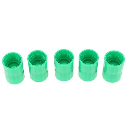 Homyl 5 Unidads Vortex Botellas Conectores Cyclone Tubo Experimentos Científicos de Plástico - Verde