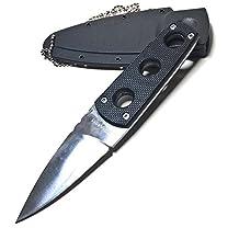 Secret Edge Style Necklace Knife With Sheath