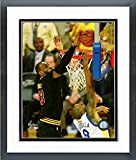 """Lebron James Cleveland Cavaliers 2016 NBA Finals Game 7 Photo (Size: 12.5"""" x 15.5"""") Framed"""