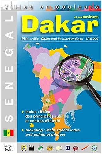 Dakar City Map: 9782952104807: Amazon.com: Books on