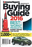 Consumer Reports Buying Guide 2017