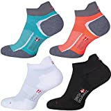 Low-Cut Pro Running Socks (Caribbean Blue 1 Pair, US Women 11-13 // US Men 9.5-12.5)