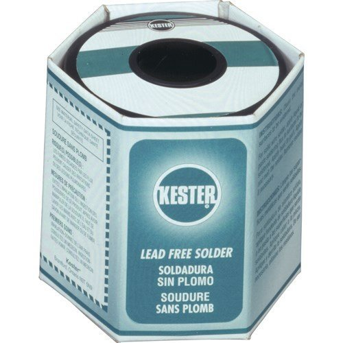 KESTER SOLDER 24-7068-7601 275 No Clean Core 96.5% Tin 3% Silver 0.5% Copper Lead Free Solder Wire-Gauge 21 - 1 item(s) by Kester Solder