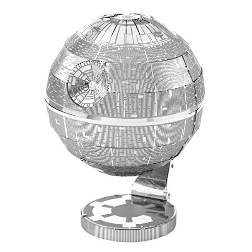 Puzzle Star 3d Wars - Fascinations Metal Earth Star Wars Death Star 3D Metal Model Kit