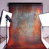 MOHOO 5x7ft Cotton Polyster Photography Background Vintage Wall Photo Photography Backdrop Studio Prop Background gaicheng (Updated Material)No Wrinkle