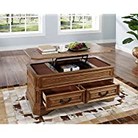 New Classic Oakridge Lift Top Cocktail Table, Tawny