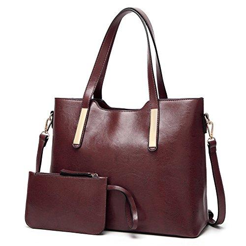 Shoulder Womens Ladies Leather Tote Cherry Designer Bag Handbags Aburnudrey PU Handbags qUHwS1f