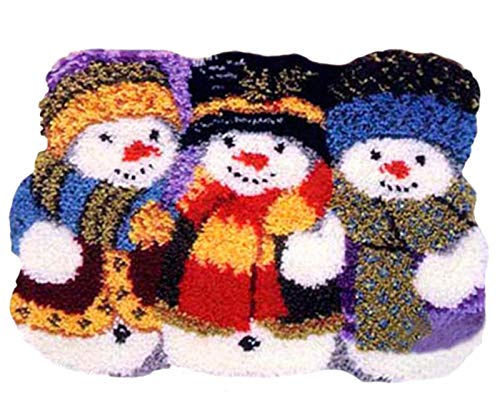 - BYT Collections 14 Model Christmas Latch Hook Kit Rug Christmas047 21 by 15 inch (1 Pack)