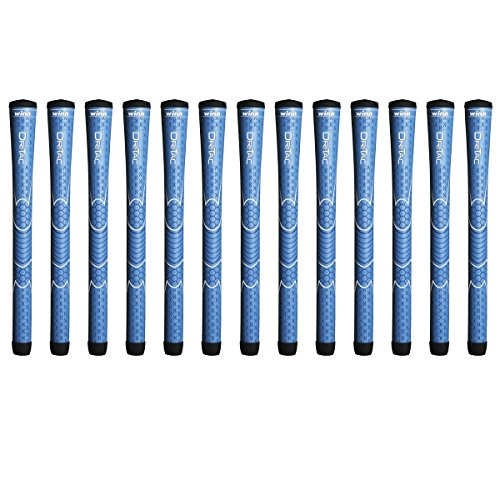 Winn Dri-Tac Junior Blue 13 Piece Golf Grip Bundle ( by Winn