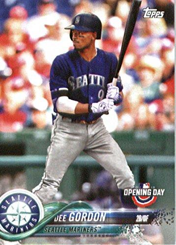 2018 Topps Opening Day #170 Dee Gordon Seattle Mariners Baseball Card