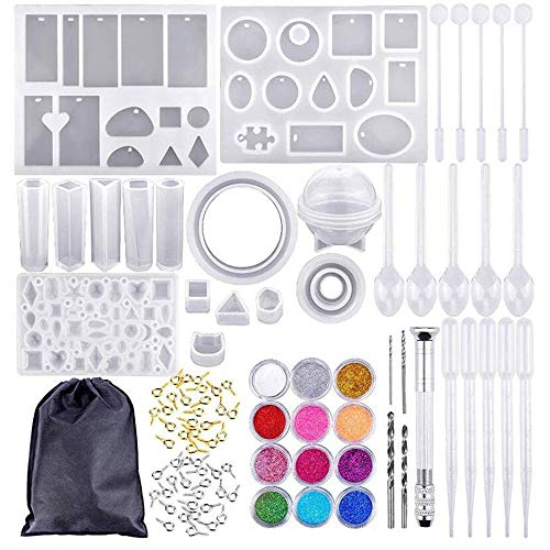 Sodoop 83 Pieces Handmade DIY Crystal Epoxy Glue