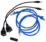 BAFX Products - CAT5 Adapter Kit for BAFX Products IR Repeater Kit - 1 Year Warranty