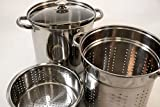 EXCELSTEEL 4 Piece 18/10 Stainless Steel