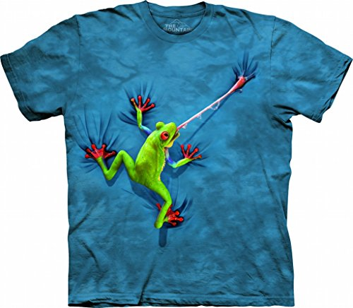 The Mountain Adult Unisex T-Shirt - Frog Tongue