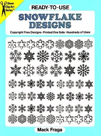 - Ready-to-Use Snowflake Designs (Dover Clip-Art Series)