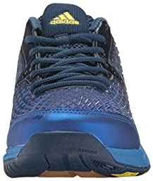 adidas Performance Men\'s Energy Volley Boost 2.0 Volleyball Shoe, Mystery Blue/Lemon Peel/Satellite, 10 M US